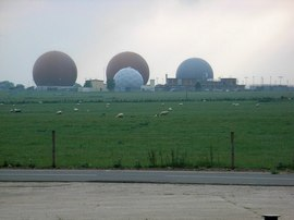 RAF Croughton. Copyright David Luther Thomas and licensed for reuse under this Creative Commons Licence